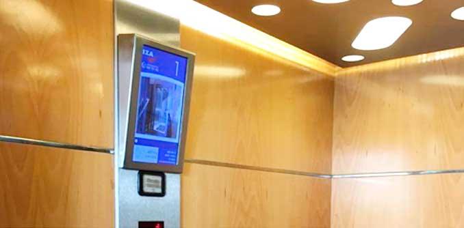 • Las empresas alavesas Iza y Oboid diseñan el ascensor interactivo con el proyecto Visualiza