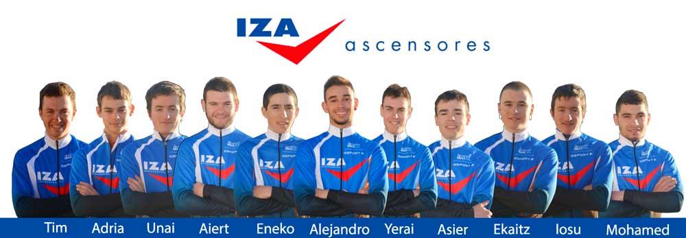 Iza Ascensores equipo ciclista