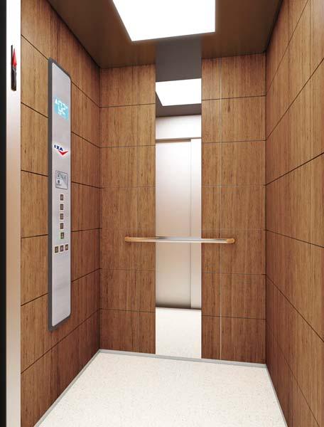 Instalación de ascensor IZA Ascensores diferentes modelos de cabinas. Elige la tuya