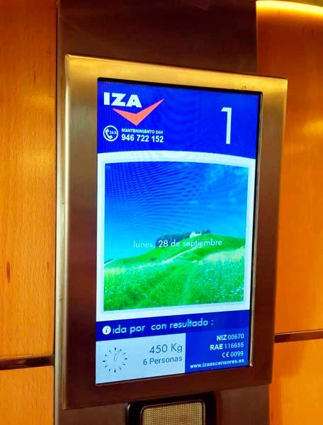 Instalación de ascensor con Visualiza el ascensor interactivo