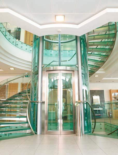 Instalación ascensor panorámico