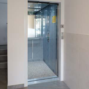 Instalación ascensor cota cero en Durango Bizkaia