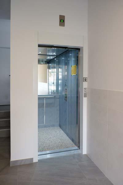 Instalación de ascensor a cota cero en Durango Bizkaia