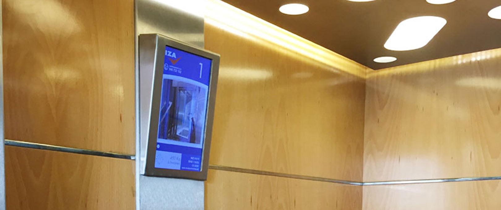 Iza ascensores diseña el ascensor interactivo
